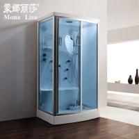 蒙娜丽莎家用整体淋浴房 单人蒸汽房湿蒸房