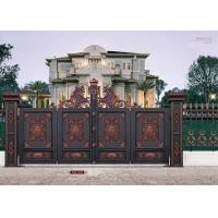 亚坤铝艺金属 亚坤铝艺大门护栏 别墅庭院大门护栏