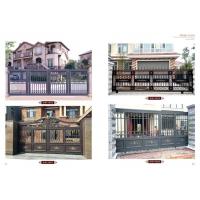 优质铝艺大门护栏 别墅庭院大门护栏,亚坤铝艺金属