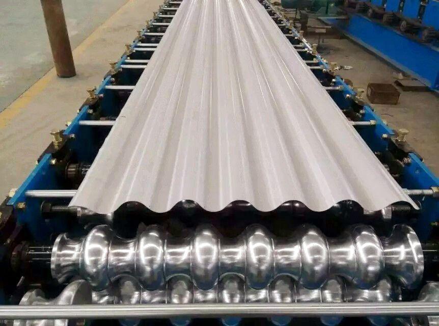 圆弧形屋面板780型全自动数控圆弧型压瓦机