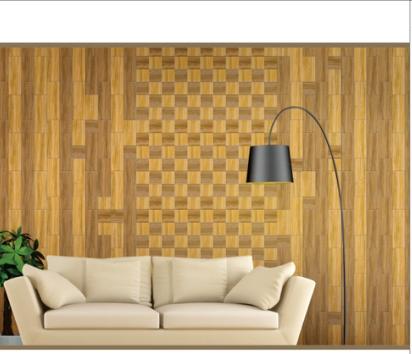 供应仿实木纹内墙砖 客厅餐厅电视背景墙砖