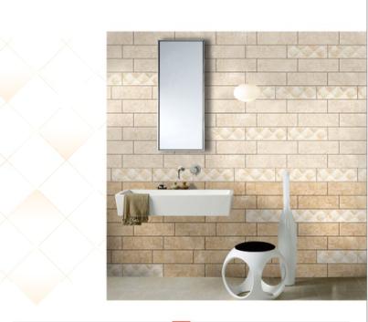 卫生间瓷砖墙砖 10x30石纹内墙砖