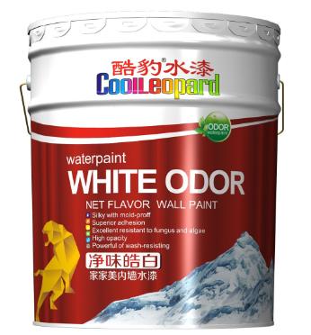 酷豹内墙水漆家家美净味超白豪华水漆耐擦洗内墙涂料