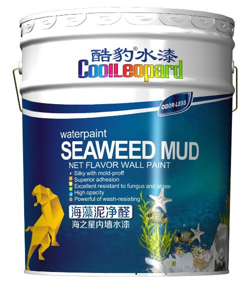 酷豹水漆H8300海之星海藻泥净醛内外通用水漆