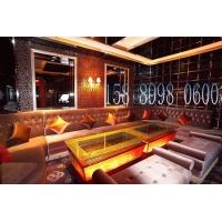 广州KTV茶几 主题房发光茶几 KTV吧台 玻璃吧桌 酒吧家