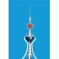 楼顶装饰塔,楼顶工艺塔,装饰信号塔,不锈钢装饰塔-宝丰铁塔公