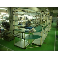 东莞防静电复合管工作台/柔性管防静电工作台-线棒防静电工作台