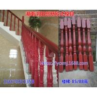 新型仿木楼梯模具 室内装修水泥模具 塑料楼梯扶手模