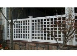 供应户外实用家庭pvc栅栏