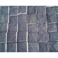 蒙古黑石材自然面 开裂 蘑菇石