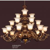 吊灯、欧式灯、酒店大厅花瓣型灯饰
