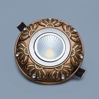 欧式led筒灯 家装筒灯 工程酒店办公照明筒灯