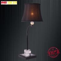 万柏欧式铁艺台灯客厅卧室客房装饰灯具 创意床头装饰工程台灯