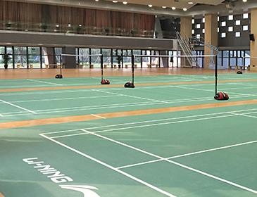 天津羽毛球塑胶地板_羽毛球专用地板