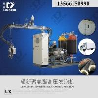 领新聚氨酯车库卷帘门 pu高压发泡机生产 机械设备