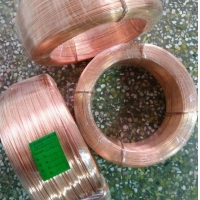 巨盛专业生产红铜铆料线 焊割配件用紫铜线材 质量保证