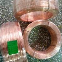 巨盛专业生产红铜铆料线 手工链条用红铜线 质量保证