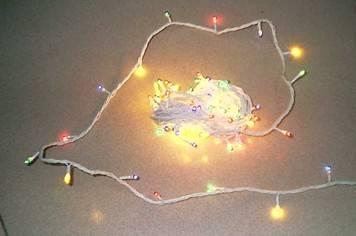 18led心形闪烁电路安装图