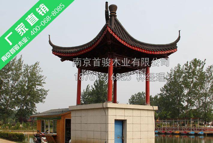 防腐木凉亭-南京首骏木业有限公司
