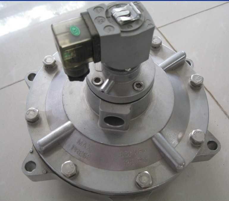 电磁脉冲阀(亦称隔膜阀)是脉冲袋式除尘器清灰喷吹图片