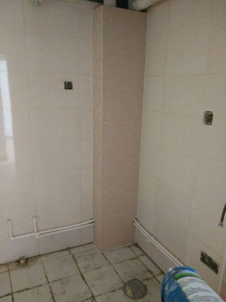 下水管 装饰品 包管道 护板 厨房 管道装饰 产品图片高清图片