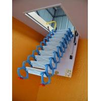 艾达伸缩楼梯 碳钢楼梯 镁合金楼梯 阁楼楼梯