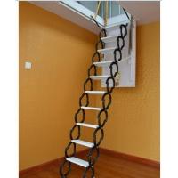 阁楼楼梯伸缩梯家用楼梯室内伸缩折叠梯阁楼梯子楼梯扶手