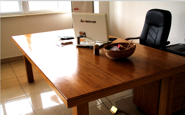 供应上竹 竹制品 竹制办公桌
