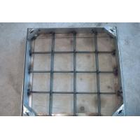 不锈钢雨水双层井盖   此款为隐形 尺寸为600 用料为30