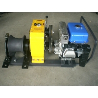 快速牵引机动绞磨机 电力施工绞磨机价格,柴油机快速绞磨