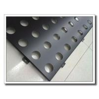 【幕墙铝单板】包柱仿雕刻氟碳造型木纹条价格幕墙铝单板