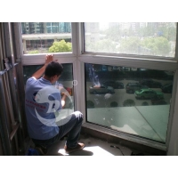 居家玻璃窗户遮阳防晒隔热膜单向反光膜常州玻璃贴膜