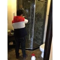 淋浴房卫生间银行柜台安全透明防爆膜
