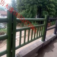 水泥栏杆仿木漆河道桥梁围栏仿木涂料