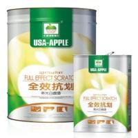 亚太苹果全效抗划亮光白面漆