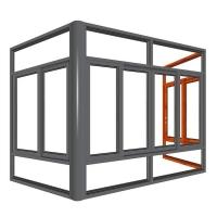 窗系统-雅品断桥推拉窗