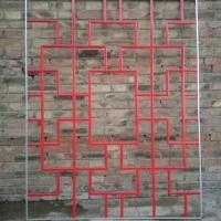 定州红色中空玻璃装饰条装饰架