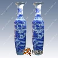 景德镇青花陶瓷大花瓶
