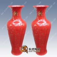 中国红大花瓶