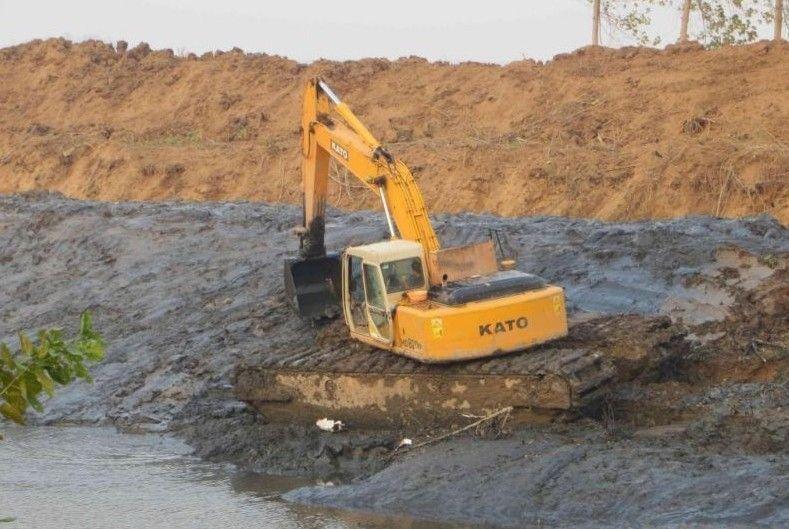 广东梅州水路挖掘机出租