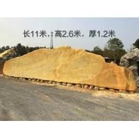 杭州特大景观石长11米,重80吨,杭州市景观石