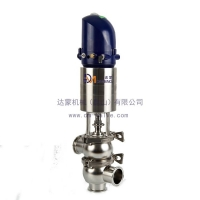 HGA/海吉雅 卫生级截止阀 不锈钢气动单座阀 快装/焊接/