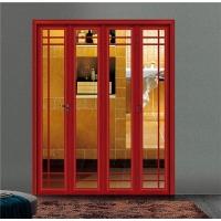 浴室折叠门铝材批发 推拉折叠门型材定制