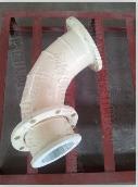 供应 创庆 陶瓷管道弯头 9.26.5