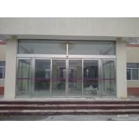 虹桥火车站无框玻璃门感应门 有框玻璃感应门