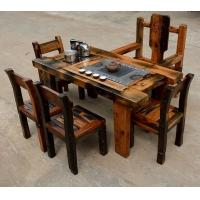 老船木茶桌红木实木喝茶桌阳台小茶几