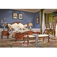 茂亚美茵驰美式卧室纯实木床