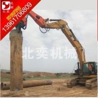 北奕BY-VH250液压震动打桩锤,打桩机,打桩挖掘机