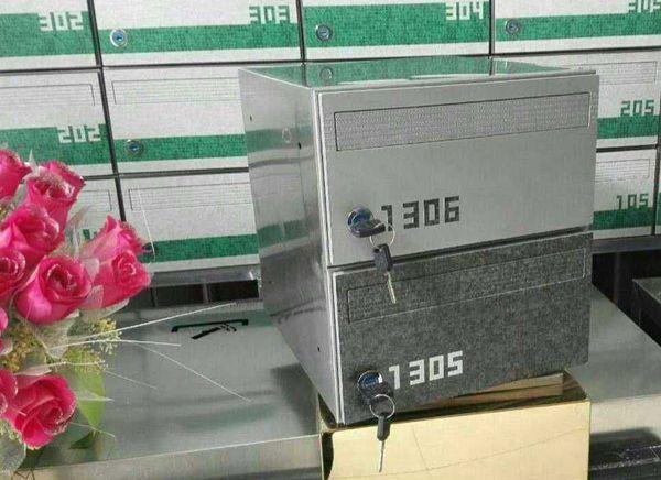金宏图 不锈钢信箱 小区信箱 邮箱