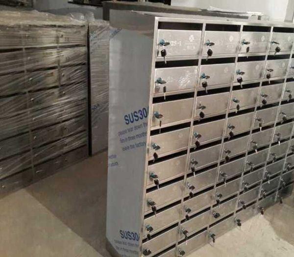 金宏图 不锈钢信箱 小区信箱 防雨邮箱
